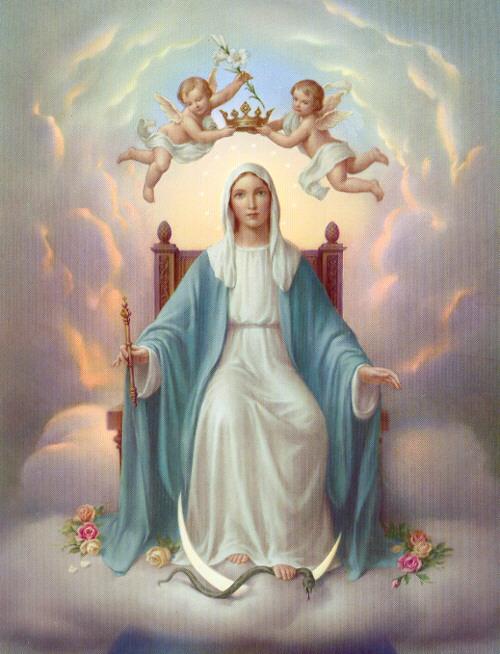 Virgen María Reina del Universo - MARIA7