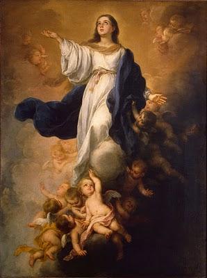Inmaculada pintura de Murillo