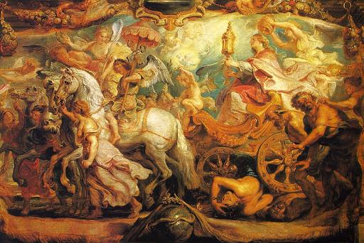 05.-Rubens, El Triunfo de la Eucaristia