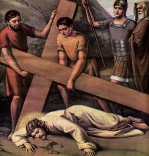 09 Jesús cae por tercera vez
