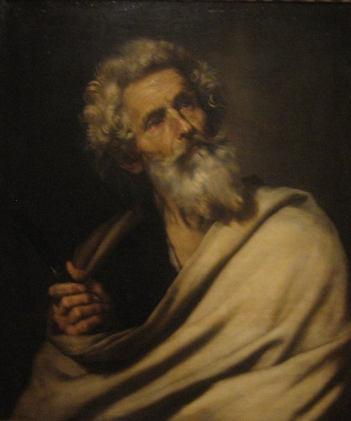 Jusepe_de_Ribera_-_-Saint_Bartholomew',_oil_on_canvas,_1643,_El_Paso_Museum_of_Art