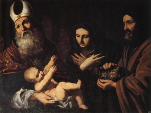 Pacecco_de_Rosa_Jesús_presentado_en_el_Templo_Castello_di_Opocno